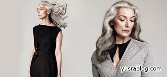 Silver Foxette Fashion Style Trend