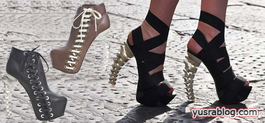 Skeletal Stilettos Fall Winter 2010 Shoes Collection