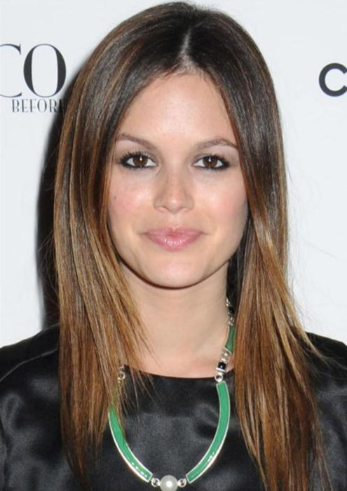 rachel bilson straight hair. Teen Celebrity Rachel Bilson
