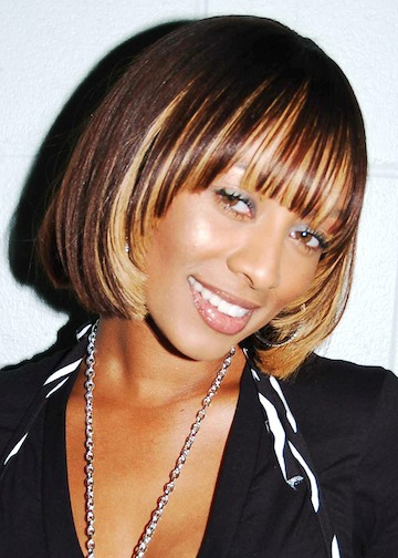 short dark hair styles stylish hilson hairstyles 2010 yusrablog 6656 | d4 Keri Hilson Short Bob Hairstyle