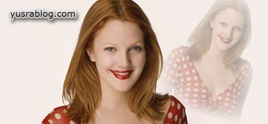 Drew Barrymore Charming Hairstyle Trend