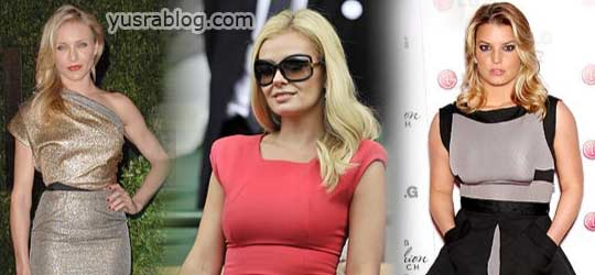 Fabulous Celebrities Wearing Victoria Beckham's Designs