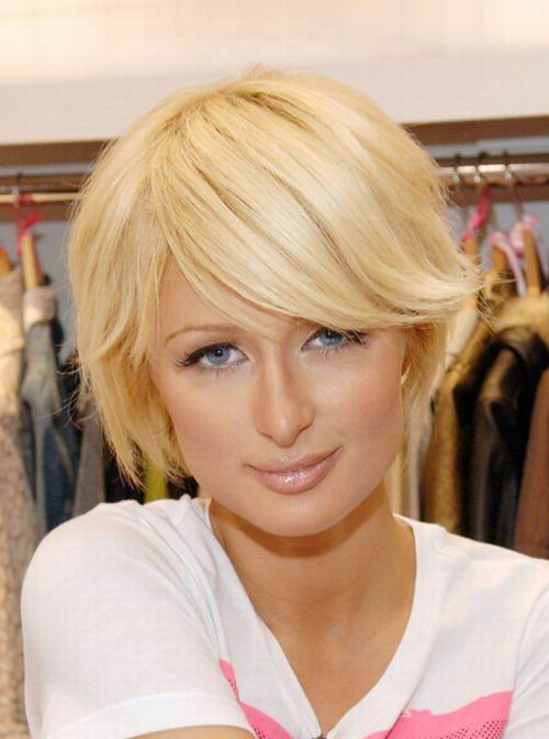 trendy hairstyles with bangs. Cute Short Hairstyle 2010
