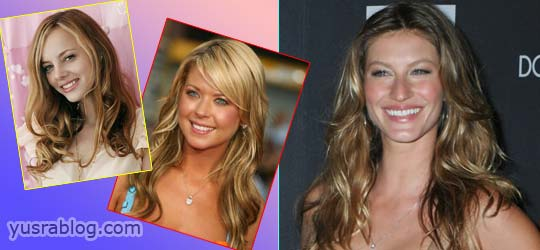 Inspirational Long Hairstyles of Celebrity