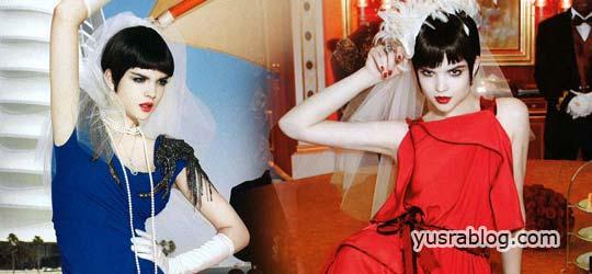 Harper's Bazaar Japan August 2010 Patricia Schmid by Yoshihito Sasaguchi