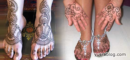 Stylish Mehndi Designs for Hands and Feet Fashion