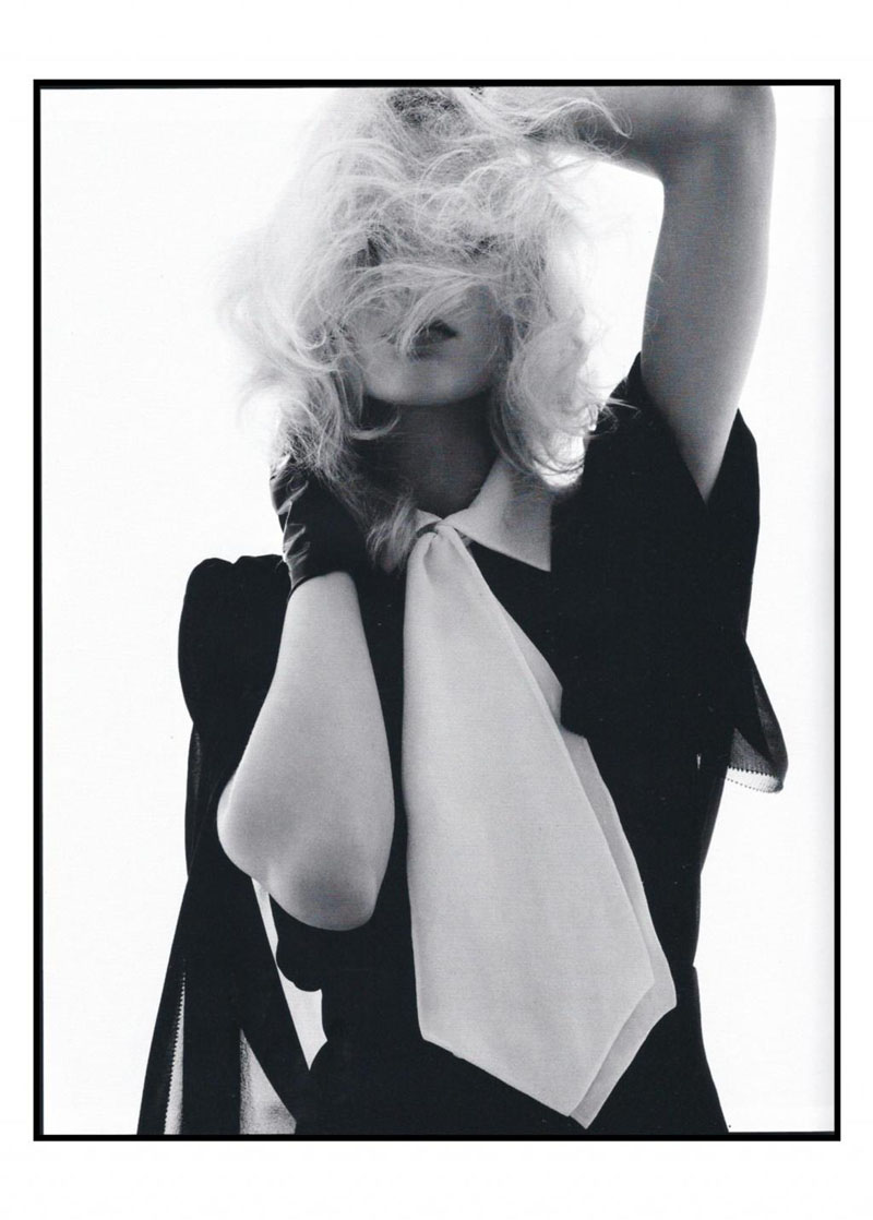 Melissa Tammerijn in YSL  Muse Summer 2010 by Inez & Vinoodh