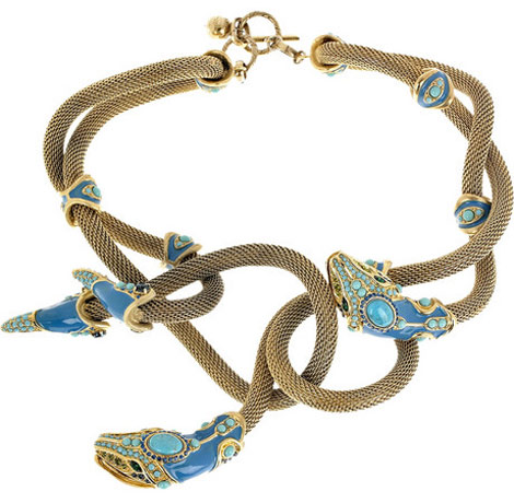 Lanvin Snake Necklace