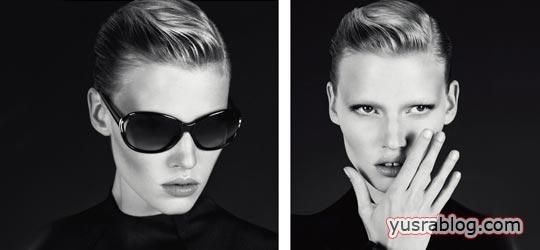 Lara Stone Calvin Klein Fall 2010 Campaign by Mert & Marcus