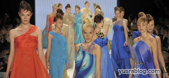 Mercedes Benz Fashion Week – JI B Collection 2011