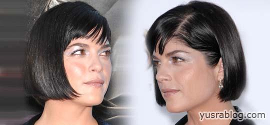 Selma Blair Stylish Short Hairstyle