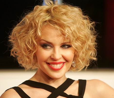 nice hairstyles for girls with curly. Nice Short Blonde Hairstyle