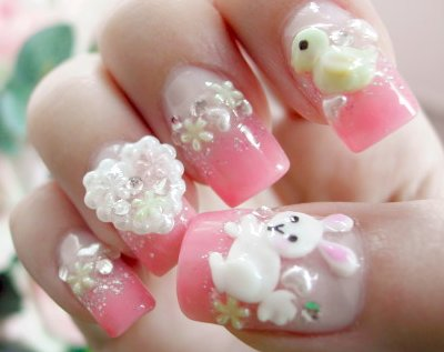 ideas for nail art designs. Summer Nailart Paint Designs
