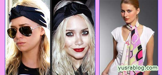 Head Scarf Fashion Trend 2010