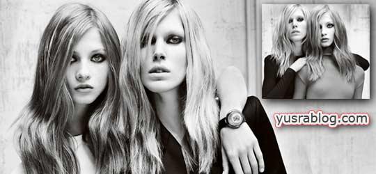 Versace Fall 2010 Campaign – Valerija by Mario Testino