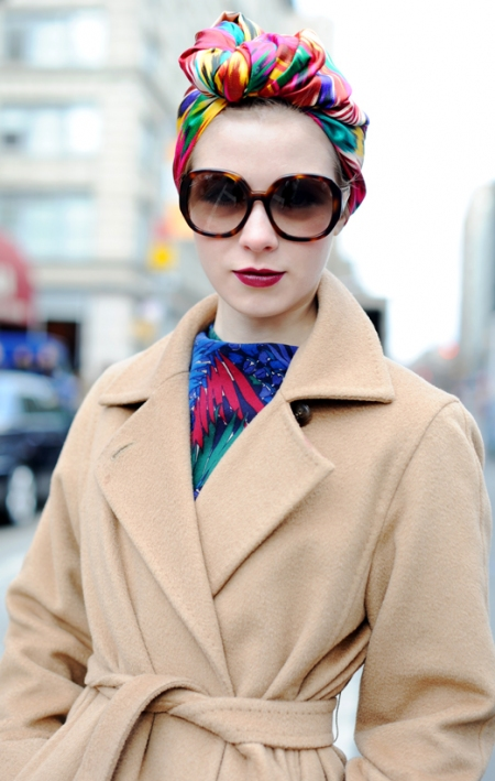 Head Scarf Fashion Trend Head Scarves Fashion Trend