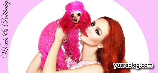 Tiah Eckhardt Styling Wheels & Dollbaby Fall 2010 Campaign by Elvis Di Fazio