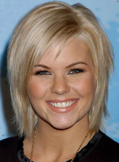 Short Hairstyles For Round Shaped Faces. For very short hair,