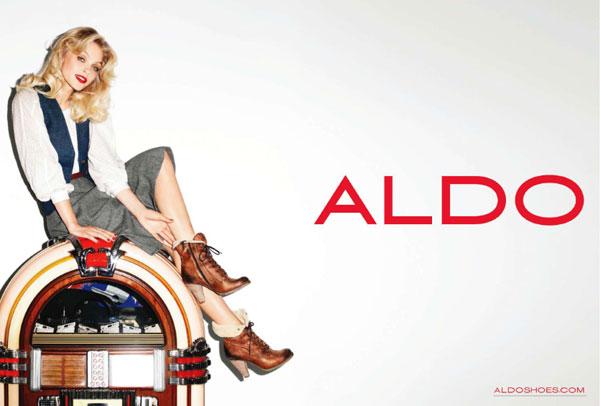Aldo Fall 2010 Campaign Preview – Jessica Stam by Terry Richardson
