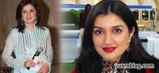 Pakistani Host Ayesha Sana Biography and Hot Pictures