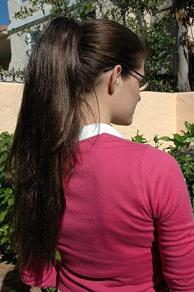 Ponytail Hairstyle For Long And Medium Hairs Yusrablog Com