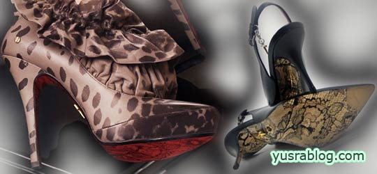 Designer Cesare Paciotti's Shoes With Lace Soles – Feminine Leather & Lace Print Sole