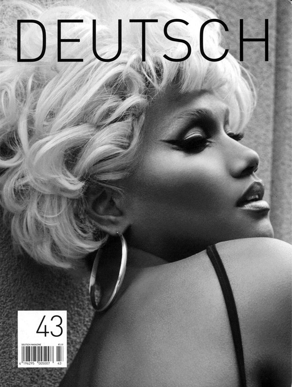 Arlenis Sosa by Tony Kim for Deutsch Issue #43 Cover