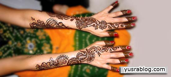 Arms and Hands Stylish Eid Mehndi Designs