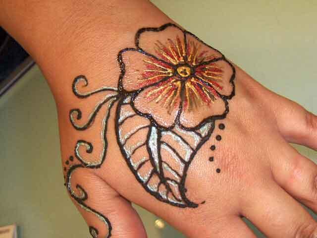 Flower Wali Mehndi : Mehndi hd henna designs hairstyles hand hair