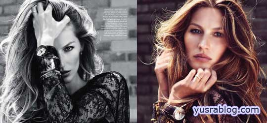 Harper's Bazaar UK September 2010 Gisele Bundchen by Cédric Buchet