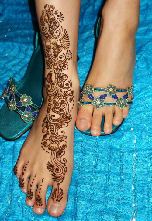 Feet Mehndi For Eid : Eid mehndi designs for foot trendy selection henna