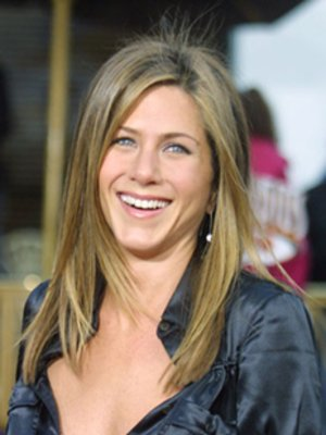 jennifer aniston hair bob 2011. Jennifer Aniston Straight Down