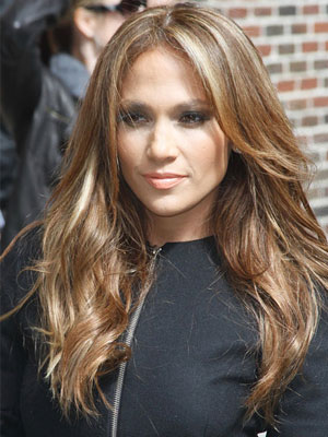 jennifer lopez hairstyles with bangs. Jennifer Lopez Long and