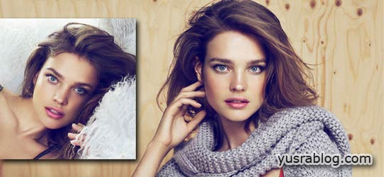 Natalia Vodianova for Etam Fall 2010 Campaign