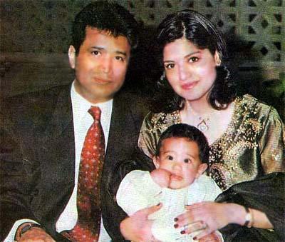 Nazia Hassan husband Mirza Ishtiaq Baig