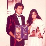 Nazia Hassan with Zoheb Hassan
