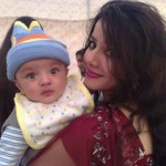 Rabi Pirzada and Cure Son