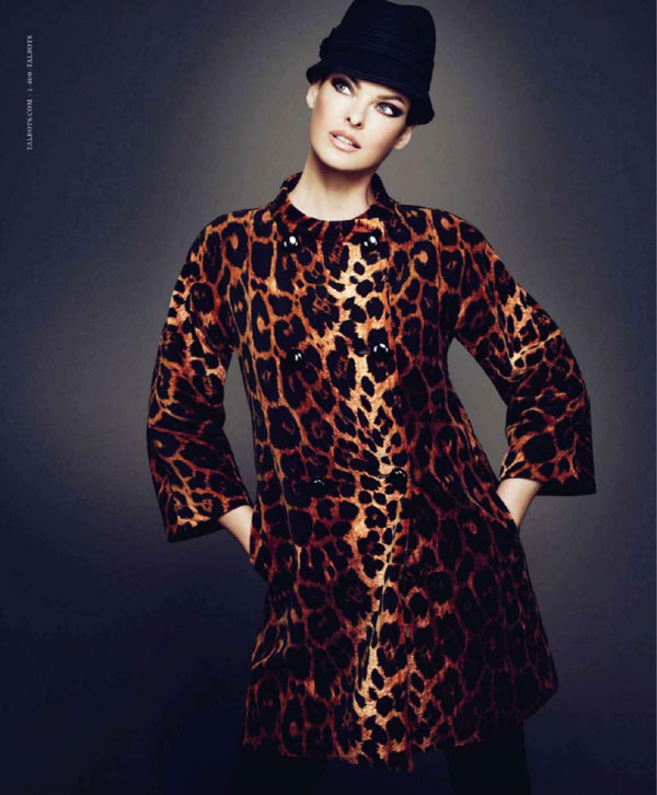 Linda Evangelista in Talbots Fall 2010 Campaign Preview by Mert & Marcus