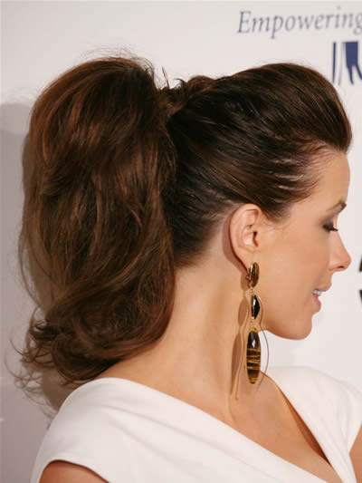 celebrity ponytail hairstyles. Ponytail Hairstyle