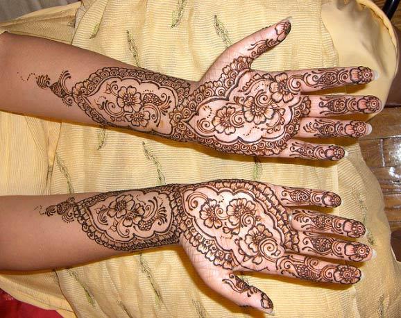 Mehndi For Arms : Bridal arms henna designs yusra