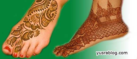 Bridal Henna Mehndi Designs for Feet 2010 Collection