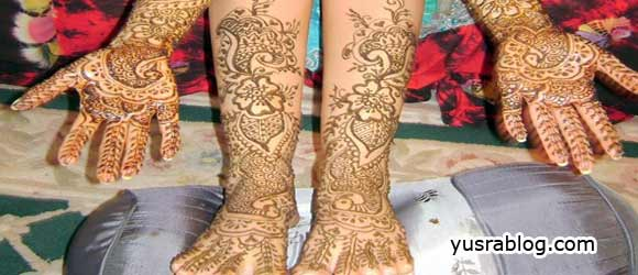 Bridal Henna Mehndi Designs for Legs – Special Selection