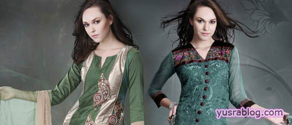 Stylish Eid Salwar Kameez Fashion Designs