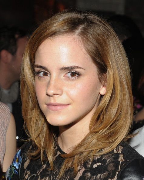 emma watson hair down. emma watson hair up. hair and