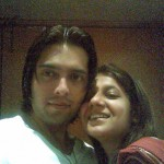 Fahad Mustafa & Wife Romantic Pics
