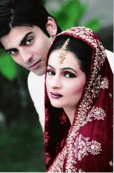 Fawad Afzal & Wife Wedding Photo Album