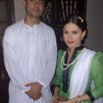 Fawad Afzal and Mrs Fawad Photos