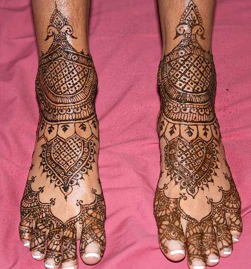 Bridal Foot Mehndi Designs Unforgettable Collection : Bridal foot mehndi designs unforgettable collection feet