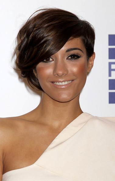 frankie sandford hairstyle front and. Frankie Sandford Short