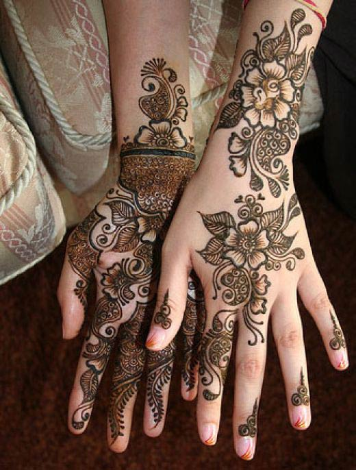Party Henna Designs for Hands 2010 – Best Simple Collection